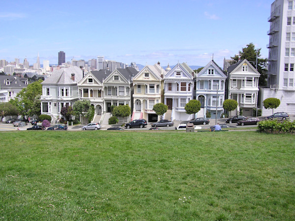 Painted Ladies--Homes in San Francisco