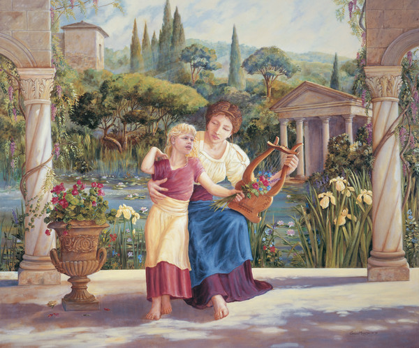 Music Lesson | Murals in Classical Style | Gordon Meggison IV