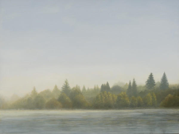 Fog Variations: Autumn Shore