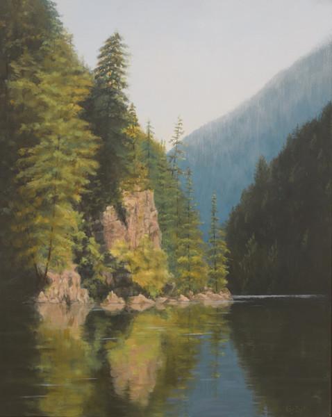Cascade Reflections, Ross Lake