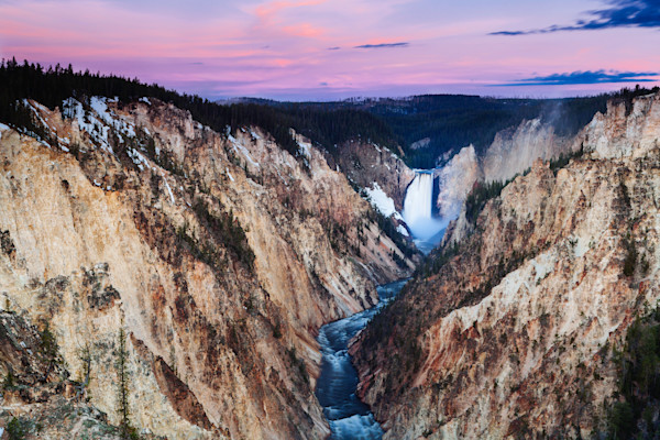 Grand Canyon of the Yellowstone Sunrise
