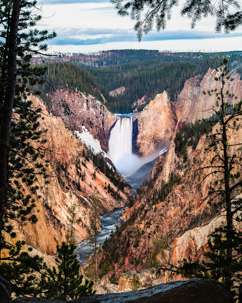 Naturally Framed: Yellowstone Falls