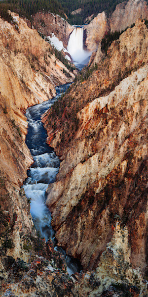 Lower Yellowstone Falls Canyon