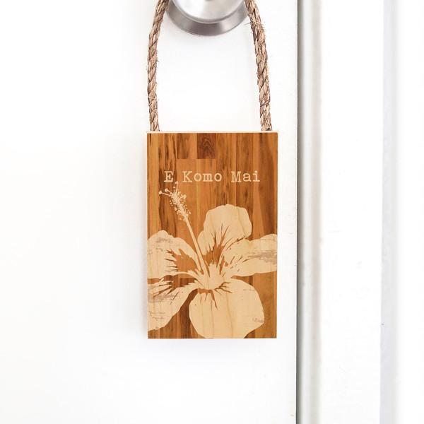 Door Hangers  |  E Komo Mai
