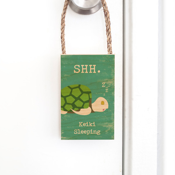 Door Hangers  |  Keiki Sleeping