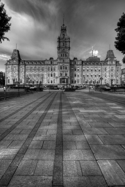 Les Parliamentes Fine Art Black and White Photograph by Michael Pucciarelli