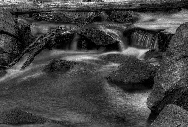Fine Art Black and White Photographs of Billy Goat Trail of Great Falls by Michael Pucciarelli