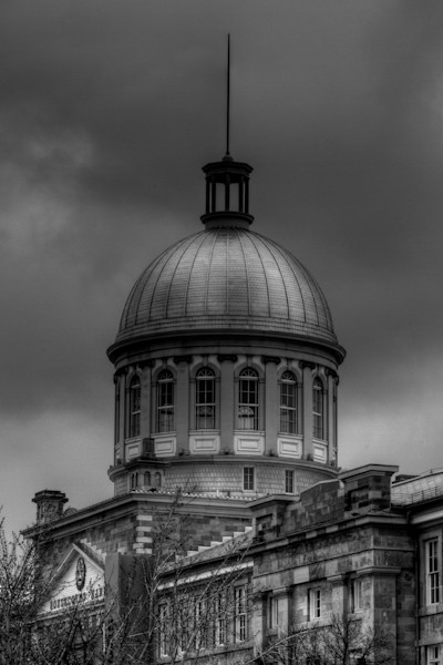 Fine Art Black and White Photograph of Bonsecours by Michael Pucciarelli