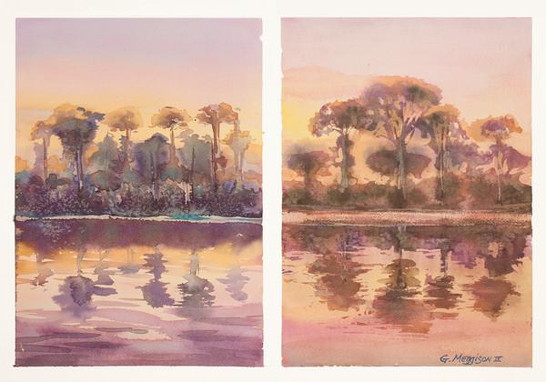 Pine Island View | Academic Workshop Demos | Gordon Meggison IV