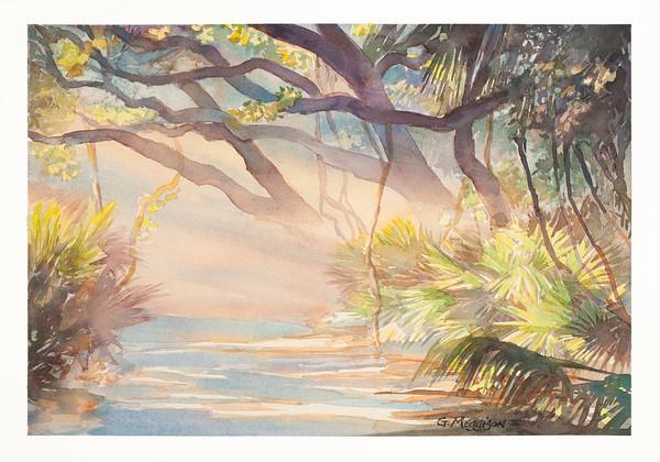 Forest Hymn | Watercolor Landscapes | Gordon Meggison IV