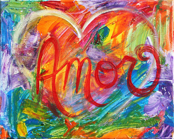Amor Abstract