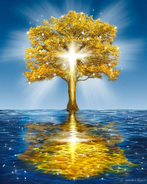 """Tree Of Life""by Ana Mendez Ferrell   Prophetics Gallery"