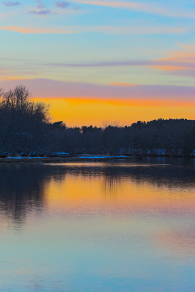 Fine Art Photograph featuring the Androscoggin River