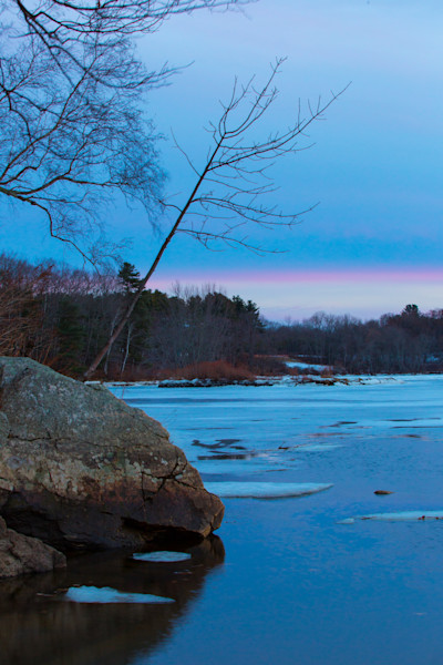 Fine Art Photograph of a Cold Morning in Maine