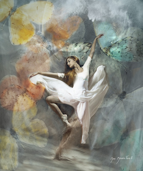 'Dancing In The Higher Realms' by Ana Mendez Ferrell   Prophetics Gallery