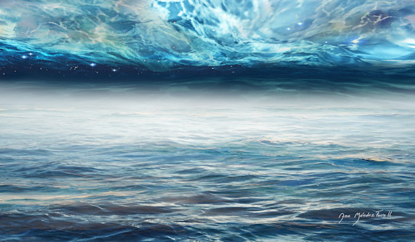 """""""Waters from Above And Waters From Beneath"""" by Ana Mendez Ferrell   Prophetics Gallery"""