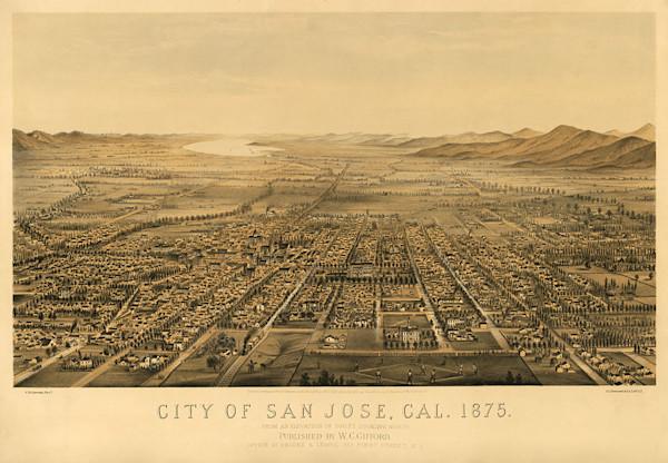 San Jose California 1875