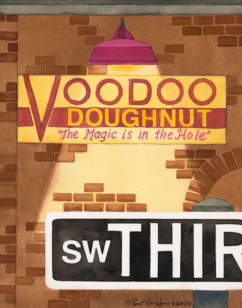 Signs of Portland-Voodoo Doughnuts