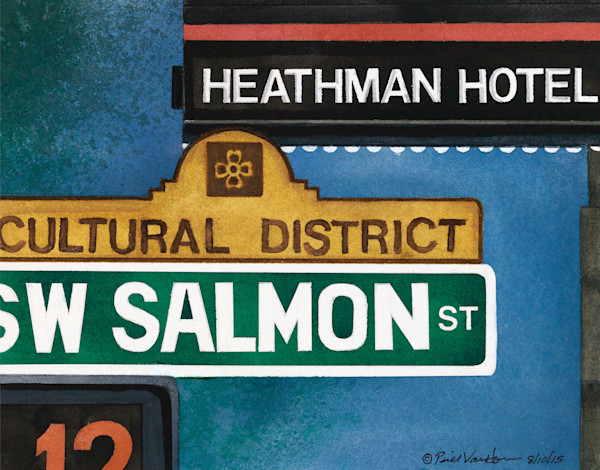 Signs of Portland - Heathman Hotel