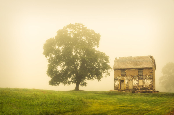 Abandoned House on Adams Dam Rd Limited Edition Fine Art Landscape Photograph