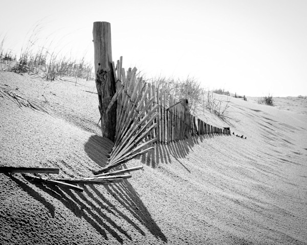 High Key Dunes Limited Edition Signed Landscape Photograph by Melissa Fague