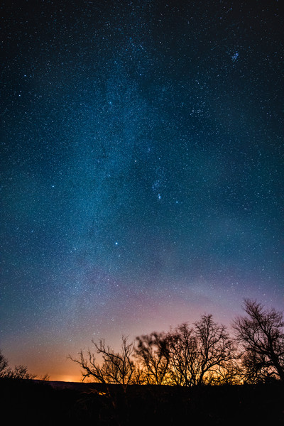 Fine Art astrophotography Photograph winter stars