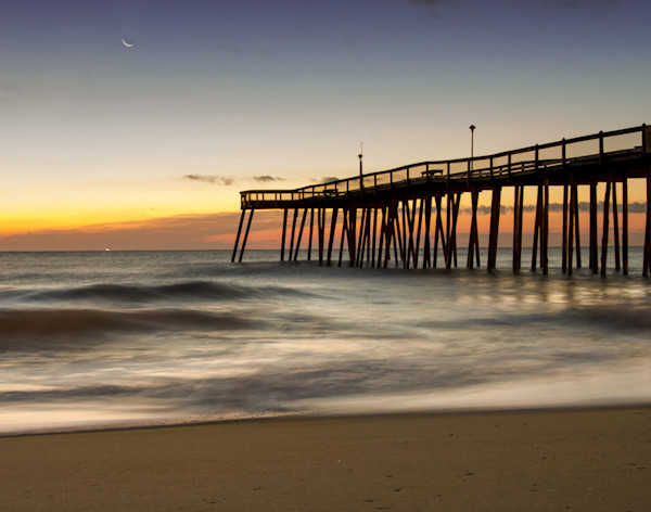 Motion of the Ocean Limited Edition Signed Landscape Photograph by Melissa Fague