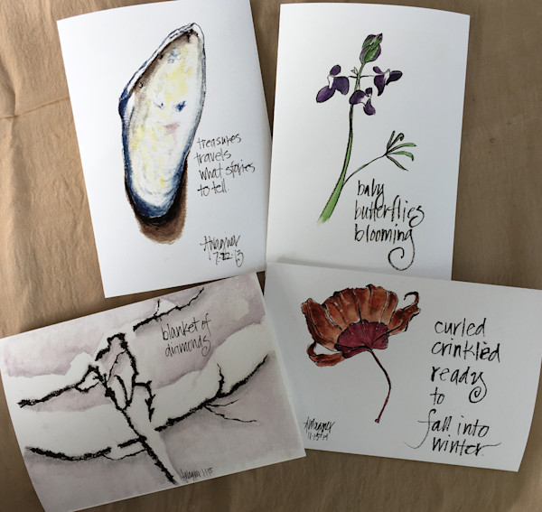 Seasons of the Earth Greeting Cards