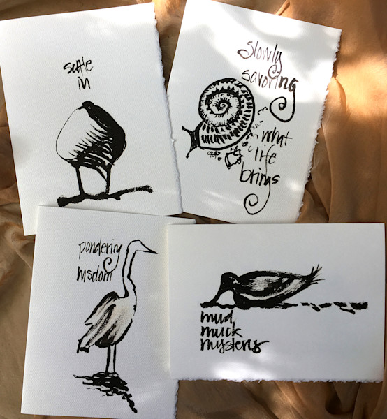 Savoring Life Greeting Cards