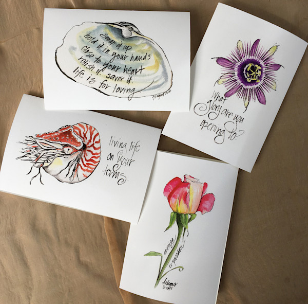 Life is for Loving Greeting Cards