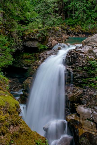 Nooksack Waterfall Fine art landscape photograph