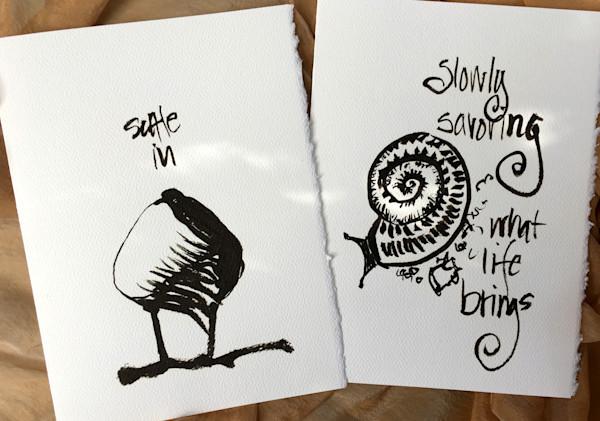 Individual Black/White Cards