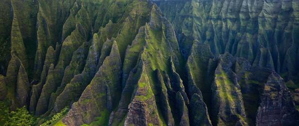 Napali coastline Kauai photograph