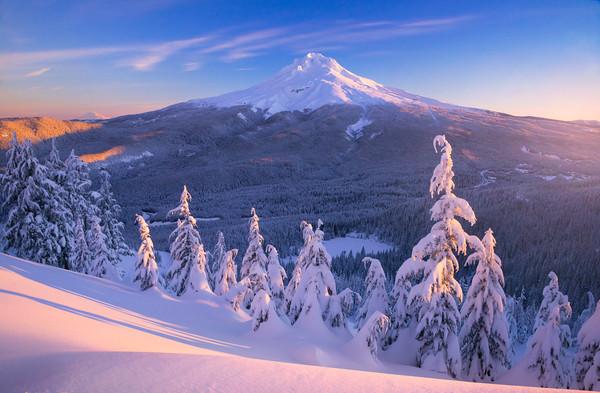 Mt Hood, Oregon photographs