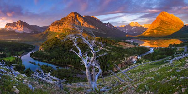 Photograph of Glacier National Park