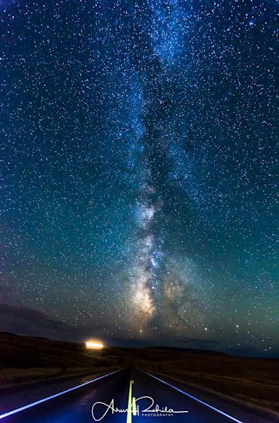 Milky Way road to Heaven