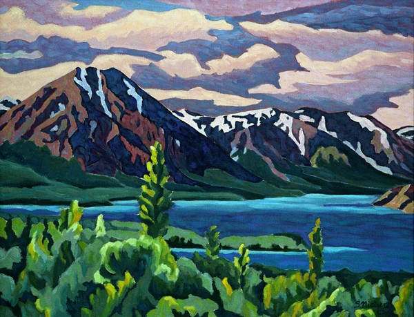 Yukon & NWT landscape art - Sherry Nielsen - prints, originals