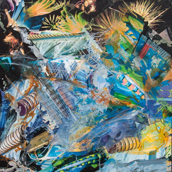 Buy Opening Celebrations  - High Quality Print of Mixed Media original Dreamscape