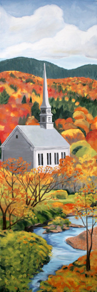 Stowe Community Church Art for Sale