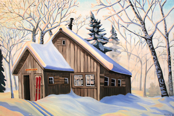 Bryant Cabin Art for Sale