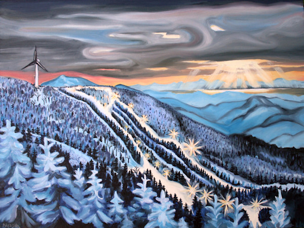 Bolton Valley Art for Sale by Natasha Bogar