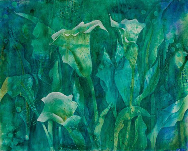 Calla-Lilies II - Original