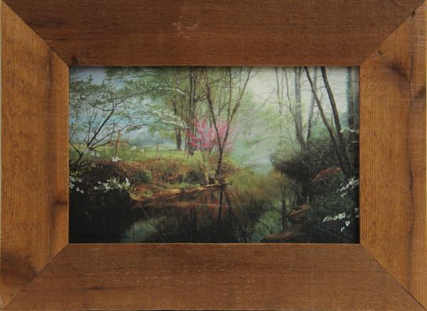 Secret Place Enhanced Mini Canvas Transfer Art Print Framed for Sale