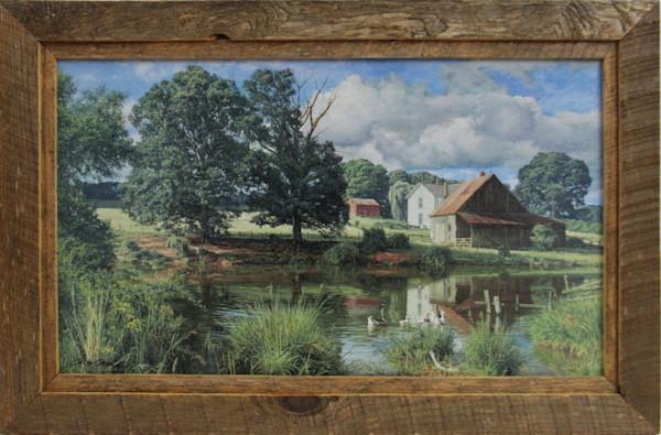 The Cool Spot Enhanced Canvas Transfer Art Print for Sale