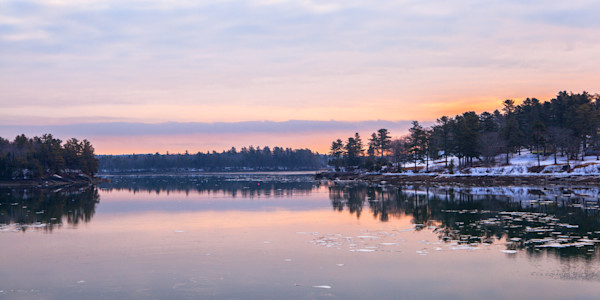 Fine Art Photograph - Beautiful Winter Day in Maine