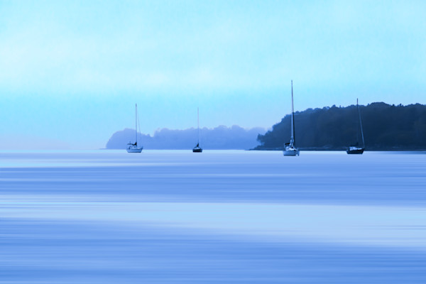 Fine Art Photograph - Serene Morning on the Harbor