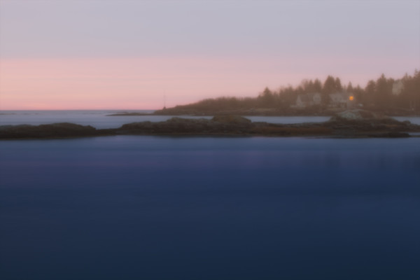 Fine Art Photograp - Sunrise on a beautiful morning in Harpswell, Maine