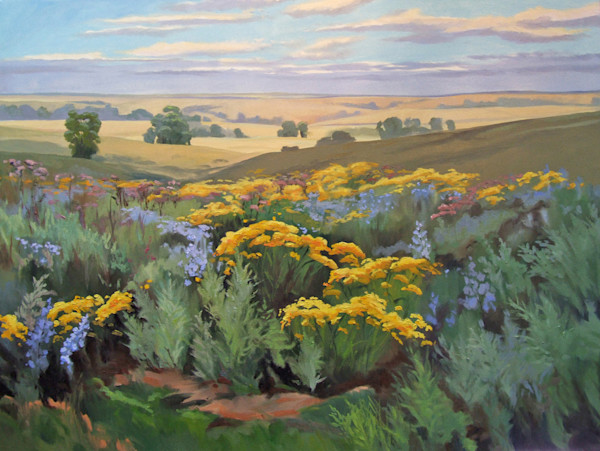 Color of the Flint Hills by Cally Krallman