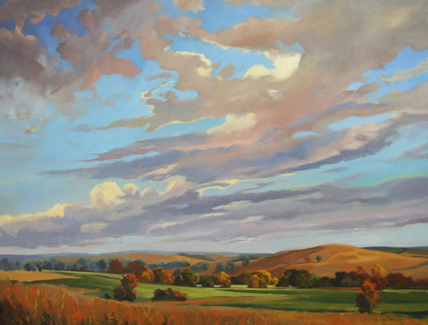 Serene Plains by Cally Krallman