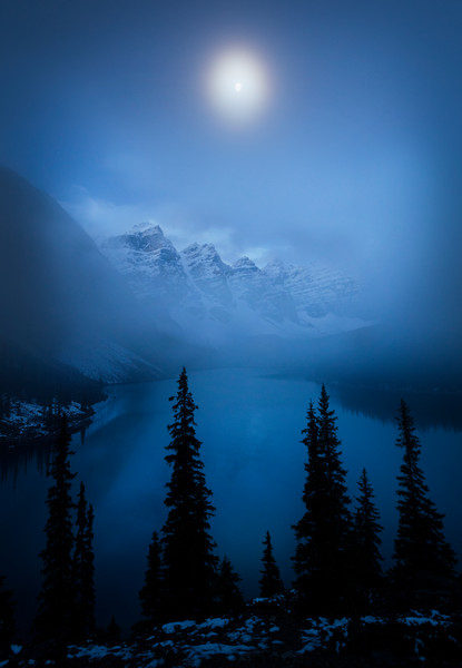 Moonlit Moraine